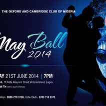 May Ball – Saturday 21 June 2014