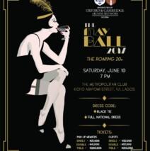 May Ball -Saturday 10 June 2017 @7pm