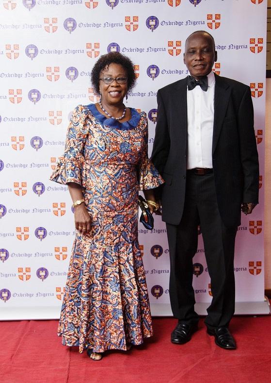 Profs. Mr & Mrs Ogedengbe