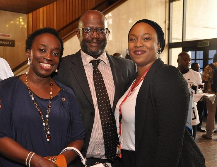 23. Mrs Yewande Zaccheaus, Mr Gbenga Rotimi and Ms Sarwiyat Rahaman.