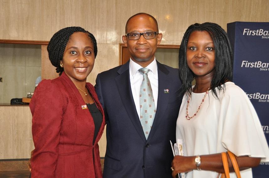 25. Ms Olatorera Oloyede with Fela and Ronke Akoni at the Oxbridge Debate 2015.