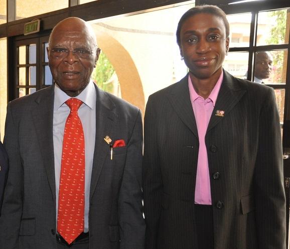26. Prof Ogunbiyi and Mrs Sola Fagbure.
