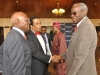 17. Professors Ogunbiyi, Akinyemi and Banjo exchanging pleasantries