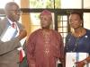 27. L-R, Prof Banjo (Administrator of MUSON), Prof Adedokun A. Adeyemi and Mrs Yewande Zaccheaus.