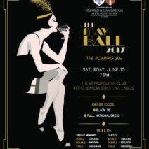 May Ball -Saturday 10 June 2017 @7pm