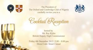 Oxbridge Nigeria BDHC Cocktail Reception IV